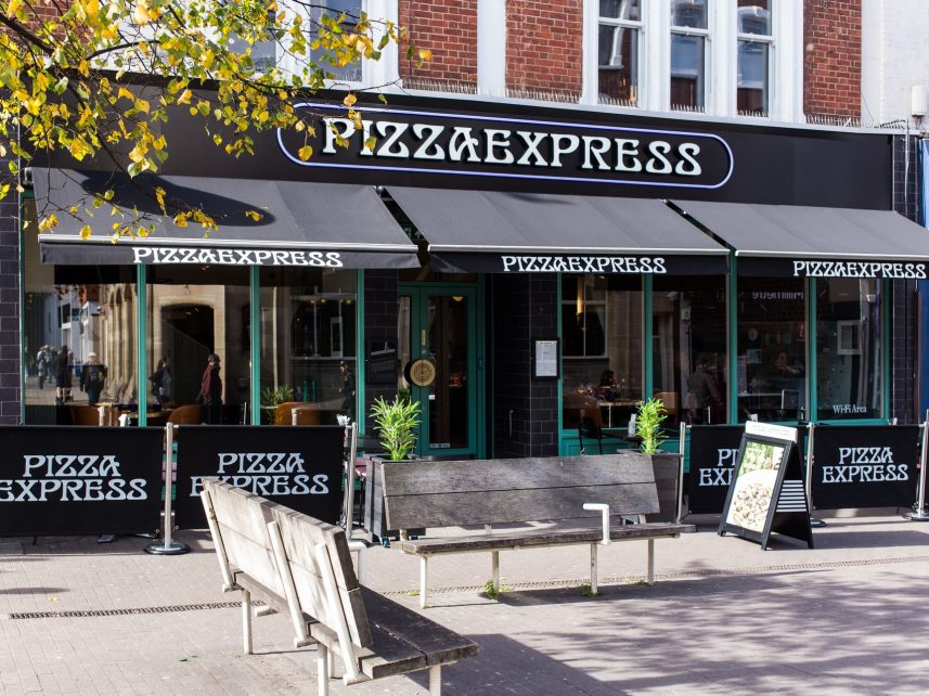 Pizza Express Sutton Meridian Design And Build